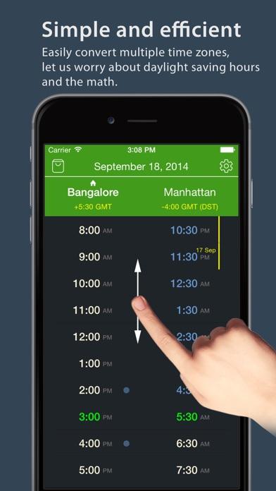 World TimeZlider - Convert time, schedule and shareScreenshot of 2