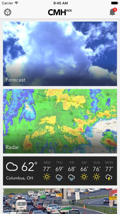 CMH wx: Columbus Weather Forecast, Traffic & Radar