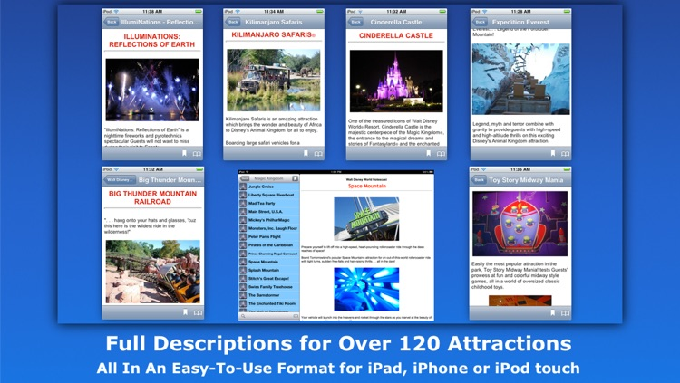 """Walt Disney World Guide"" Notescast screenshot-3"