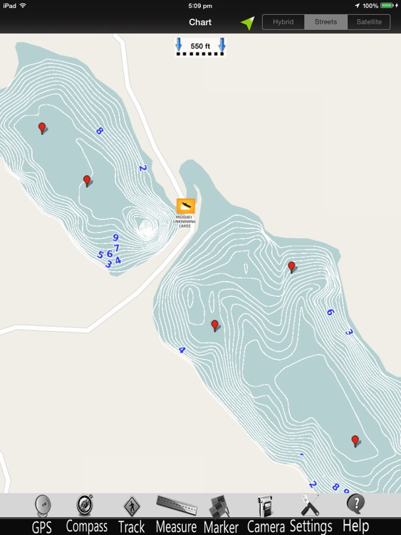 Maine Lakes GPS Charts Pro screenshot-3