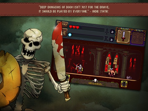Screenshot #4 for Deep Dungeons of Doom