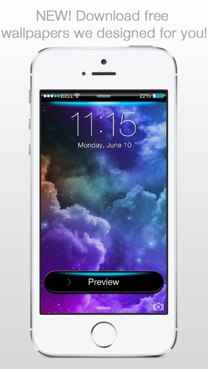 Lockster - Design your Lock Screen Background screenshot-4