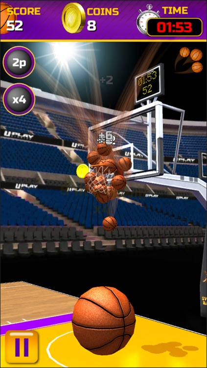 Swipe Basketball screenshot-3