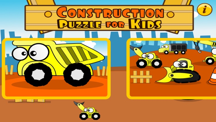 Construction Puzzle for Kids