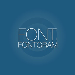 fontgram. Typography Photo Editor