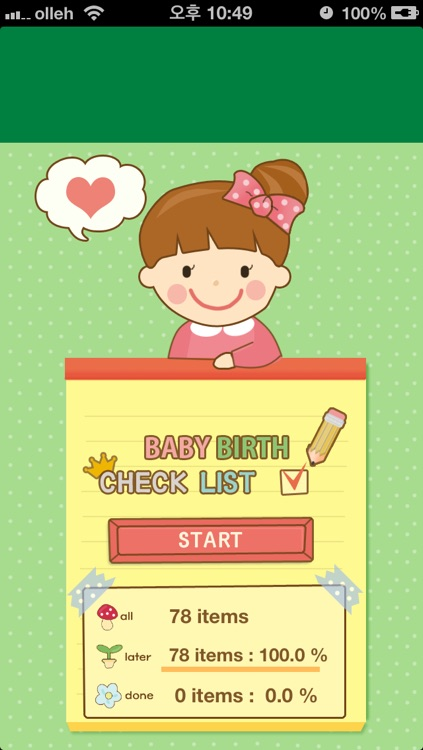 Checklist for baby birth - Prepare your labor