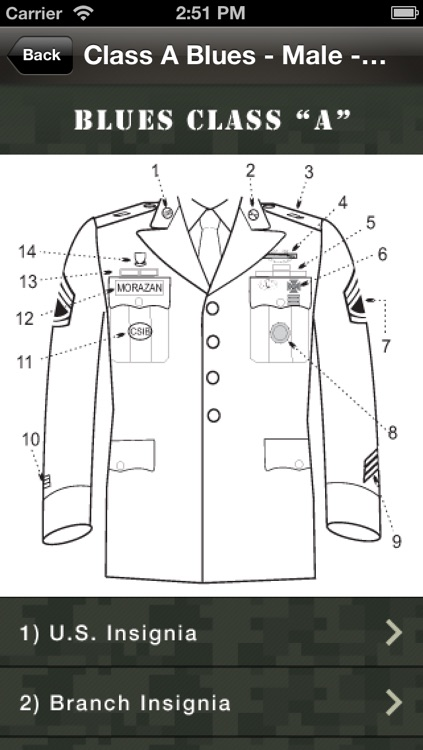 Uniform Guide Army screenshot-4