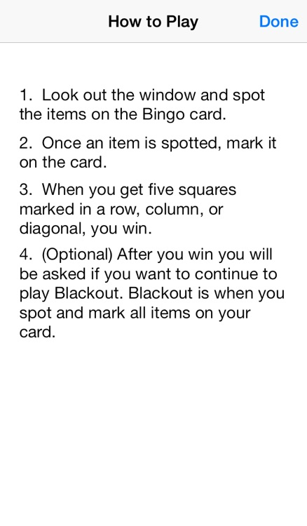 Travel Bingo & Blackout screenshot-3