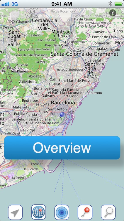 Barcelona Offline Citymap screenshot-0