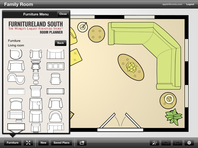 Furnitureland South Room Planner On The App Store