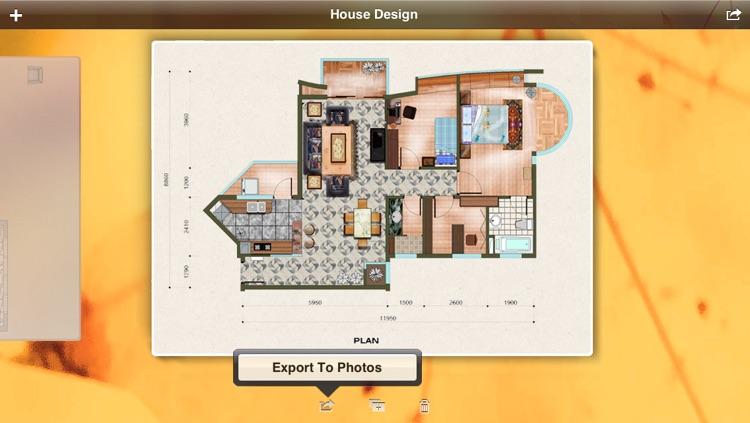 Interior Design 3D - design floor plans