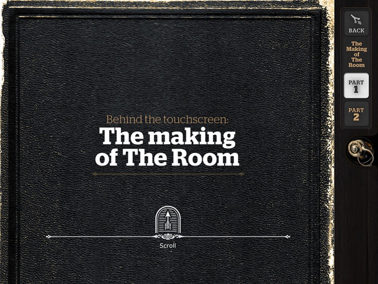 The Pocket Guide to The Room – iPad edition