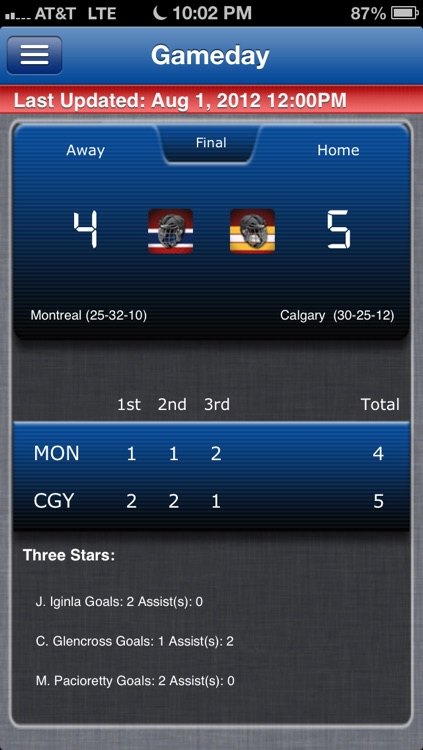 Montreal Hockey Live screenshot-0
