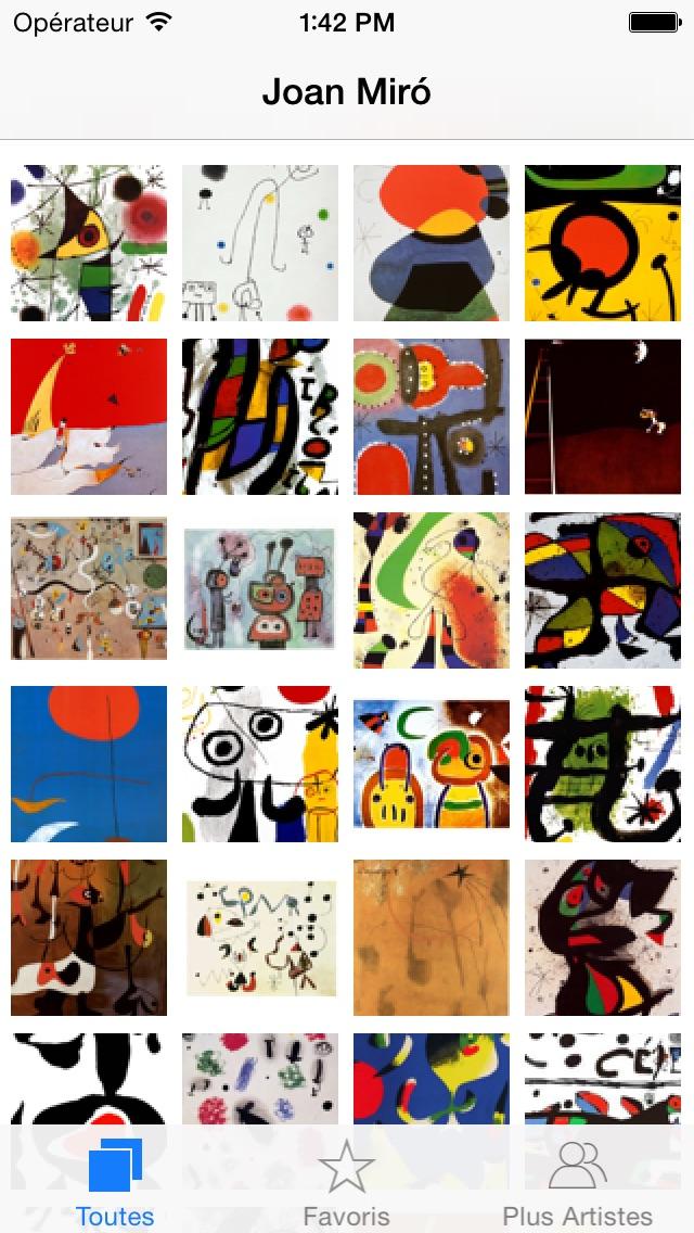 download Miró 128 peintures  (HD  100M+) apps 1