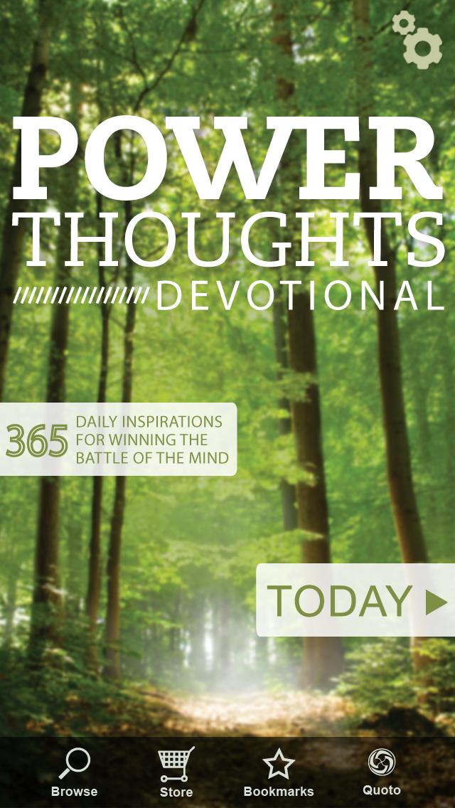 Power Thoughts Devotional Screenshot