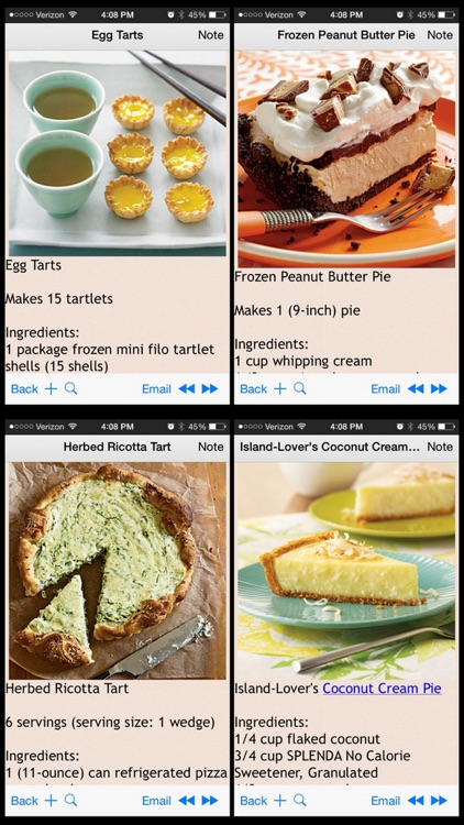 Pies & Tarts Recipes