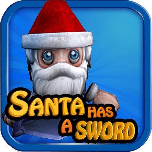 Santa has a Sword