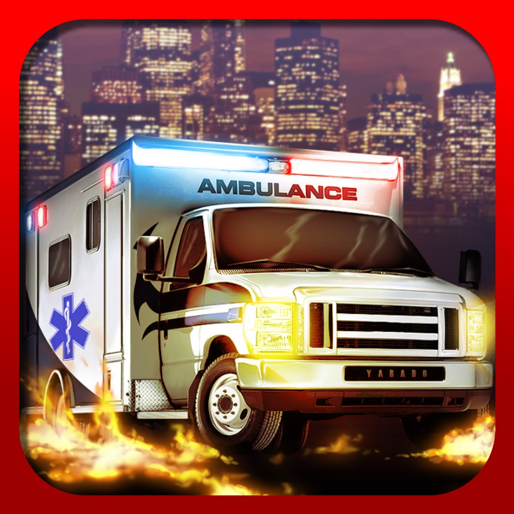 Ambulance Fun Race - Funny Racing Game hack