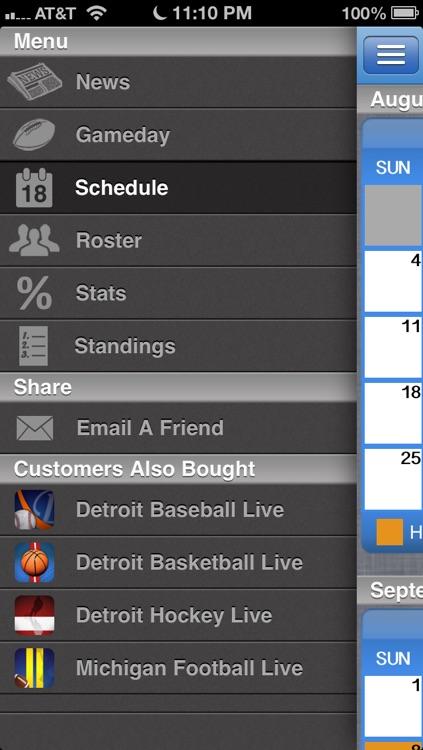 Detroit Football Live screenshot-3