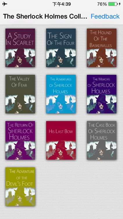 SALE:The Sherlock Holmes Collection.(The Sign of the Four ,The Case book of Sherlock Holmes...etc.10 books)(sherlock season)