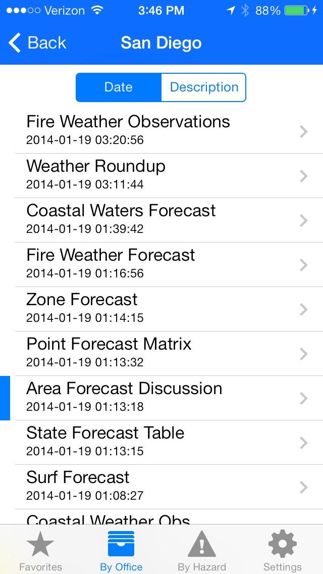 Weather Informant Screenshot