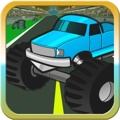 Экстремальные монстр грузовик Гонки игры - Бесплатные игры действия