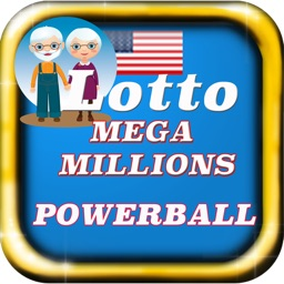 Mega Millions PowerBall For Elderly Large Fonts