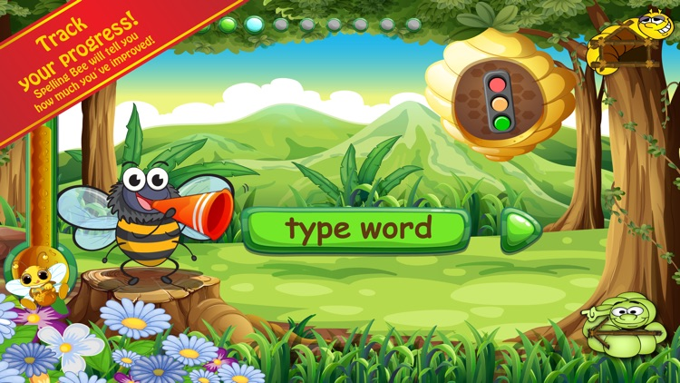 Spelling Bug 2nd Grade Words Lite