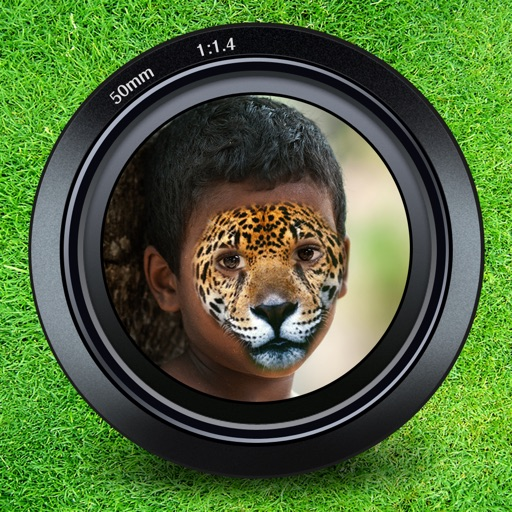 Animal Face Maker - Turn Your Photo to Cute Cat, Dog, Fox, Wolf, Cheetah, Tiger or Other Wild Animals! iOS App