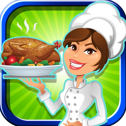A Fun Food Hustle Free - Waitress Strategy Diner Games icon