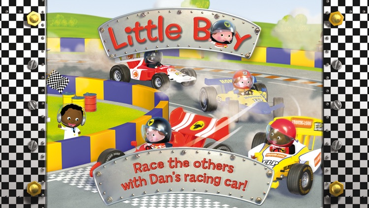 Dan's racing car - Little Boy