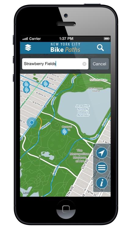 NYC Bike Paths screenshot-3