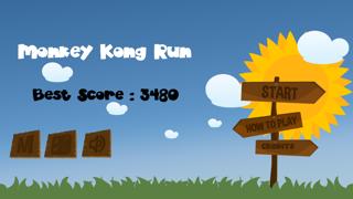 Monkey Kong Run screenshot one