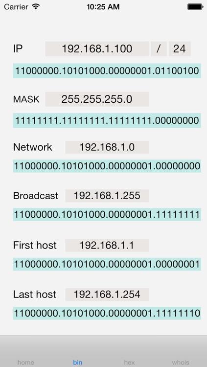 IP Mask Calculator