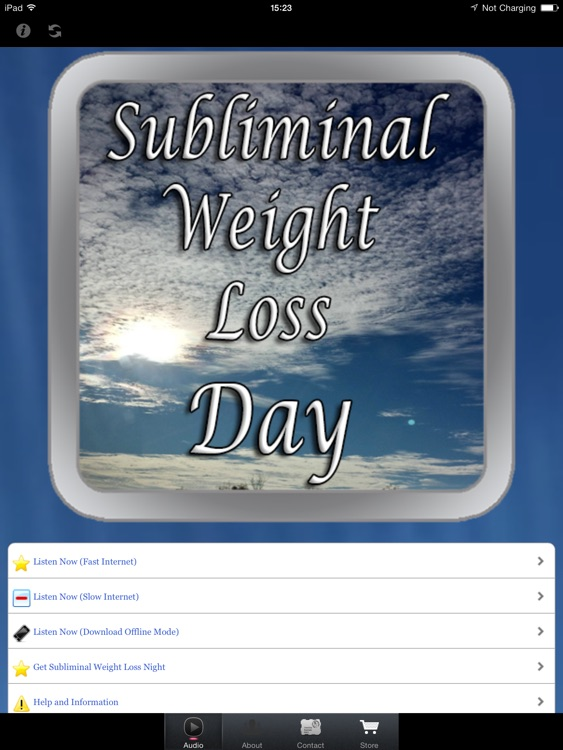 Subliminal Weight Loss Day for iPad screenshot-0