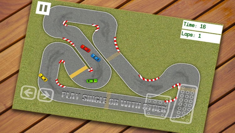 Race Course Tracks - Unique Birds Eye View Car Racing Game