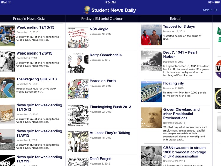 Student News Daily screenshot-1