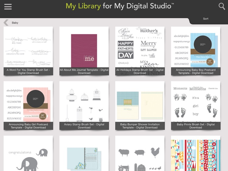My Library for My Digital Studio