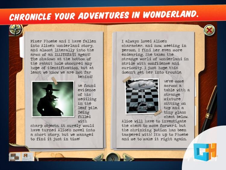 Fiction Fixers - Adventures in Wonderland screenshot-4