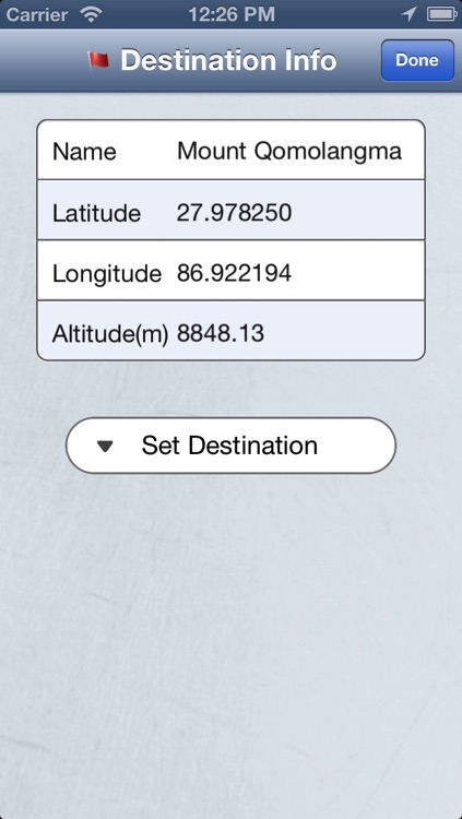 Destination Locator(Free) screenshot-1
