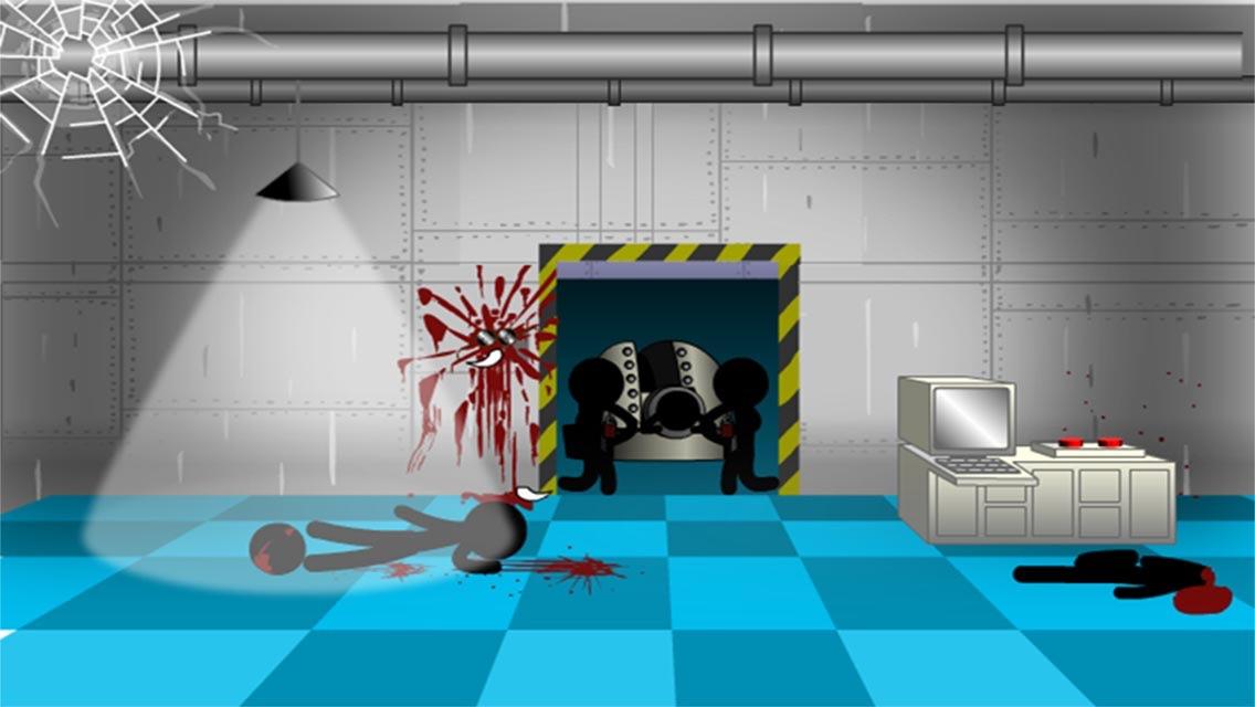 Click Death Adventure - Stickman Edition Screenshot