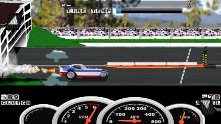 Burnout Drag Racing