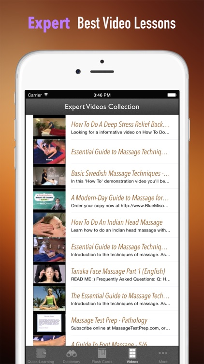 Massage Therapy 101: Therapist Tips with Tutorial Video screenshot-4