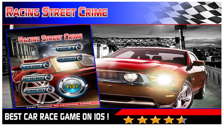 Racing Street Crime Run Free - Real Gangster hotrod Rally