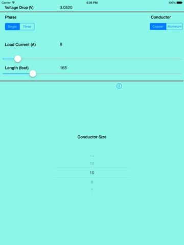 voltage drop calculator app app price drops rh appsliced co