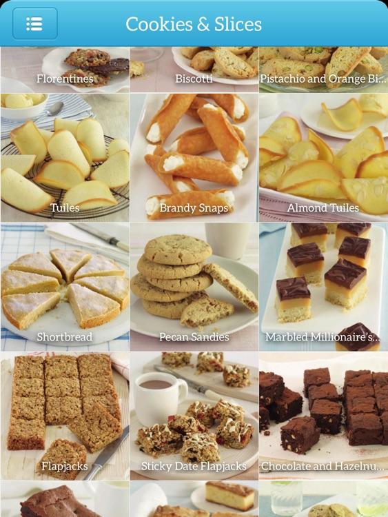 Dessert Recipes - TK Photo Cookbook for iPad