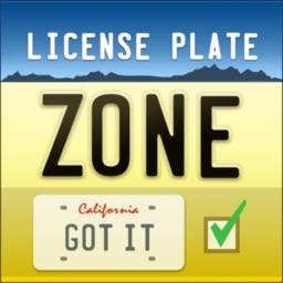 License Plate Zone