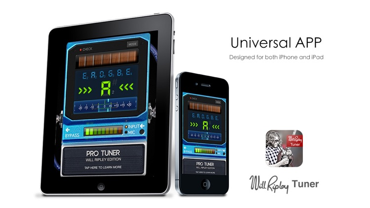 Will Ripley Tuner - Special Edition Pro Tuner