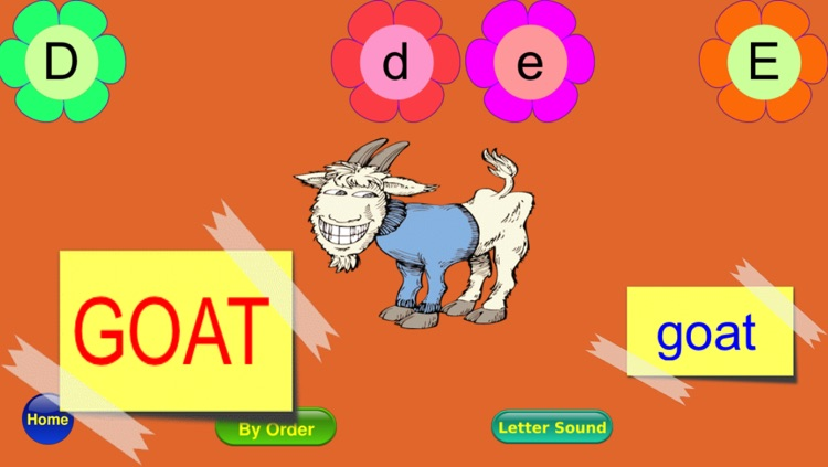 ABC Alphabet Phonics - Alphabet Ordering, ABC Song, Letters Matching and Phonics Sound screenshot-4