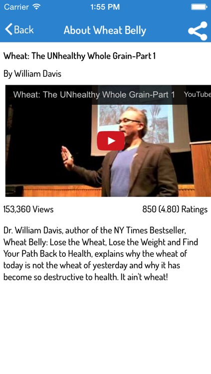 Wheat Belly Diet - Ultimate Video Guide screenshot-3
